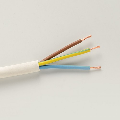 318*TQ 0.75 3 control and signal cable in white