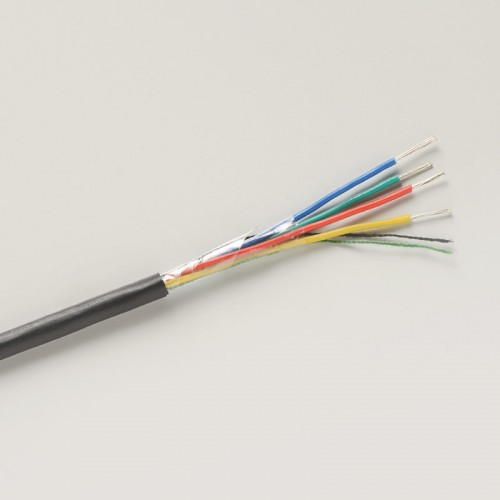 7-2-4A defence standard cable in black