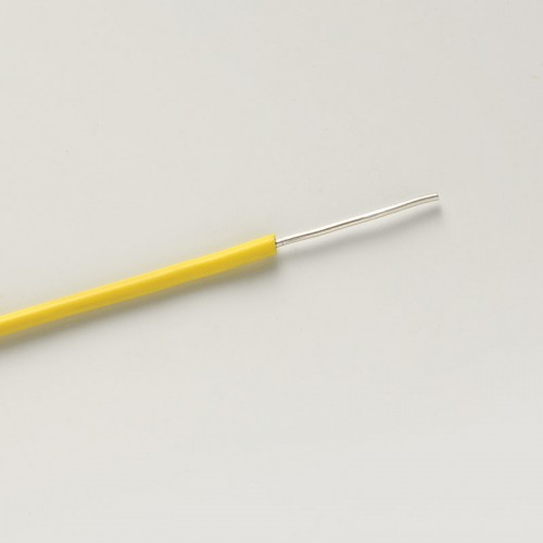 SID 1.0 silicone cable in yellow